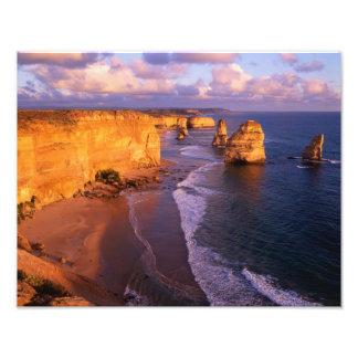 Australia, Victoria. 12 apóstoles, puerto Foto