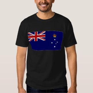 Australia Victoria Flag T-shirts