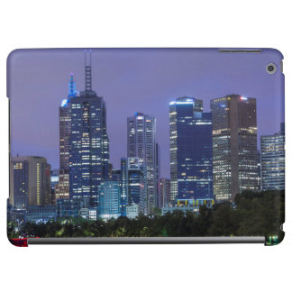 Australia, Victoria, Melbourne, skyline along Cover For iPad Air