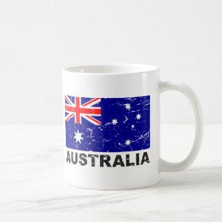 Australia Vintage Flag Mug