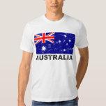 Australia Vintage Flag T Shirt