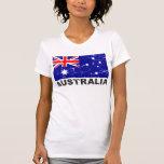 Australia Vintage Flag T-shirts