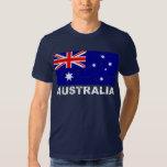 Australia Vintage Flag Tee Shirt