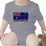 Australia Vintage Flag Tees