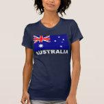 Australia Vintage Flag Tshirts