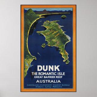 Australia Vintage Travel Poster Ad Retro Prints