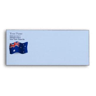 Australia Waving Flag Envelope