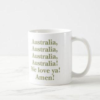 Australia We Love Ya Mug