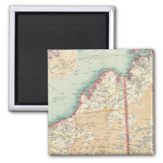 Australia western section 2 inch square magnet