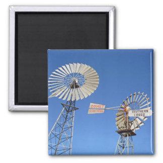 australia windmills refrigerator magnet