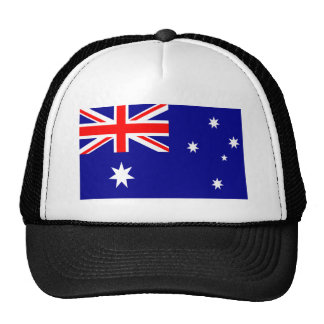 Australia World Flag Trucker Hat