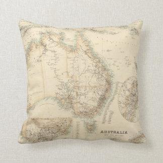Australia y Nueva Zelanda Cojín