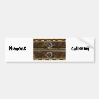 Australian Aboriginal Art - Food Gathering Bumper Sticker