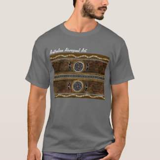 Australian Aboriginal Art - Food Gathering T-Shirt
