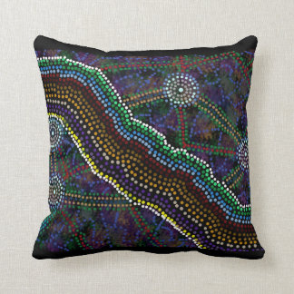 Australian Aboriginal Design Cushion