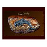 Australian Aboriginal Dolphin Dreaming Postcard