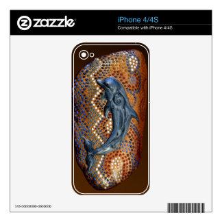 Australian Aboriginal Rustic Design Device Skin Decal For The iPhone 4