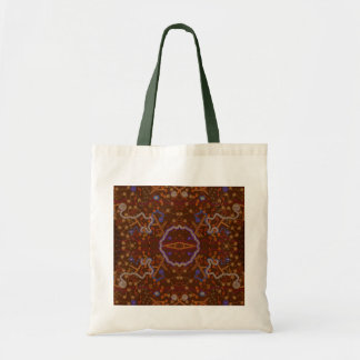 Australian Aboriginal-style Walkabout Art Design Tote Bag