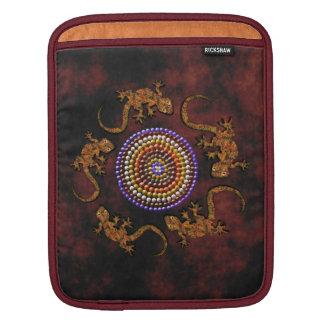 Australian Aboriginal-styled Outback Desert Art Sleeve For iPads