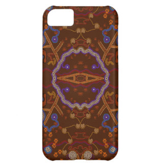 Australian Aborigines Walkabout with Animal Tracks iPhone 5C Cover