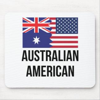 Australian American Flag Mouse Pad