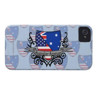 Australian-American Shield Flag iPhone 4 Cover
