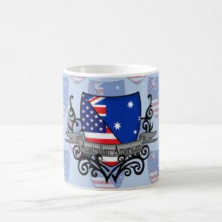Australian-American Shield Flag Coffee Mug