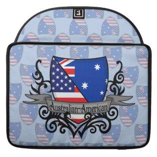 Australian-American Shield Flag Sleeve For MacBook Pro
