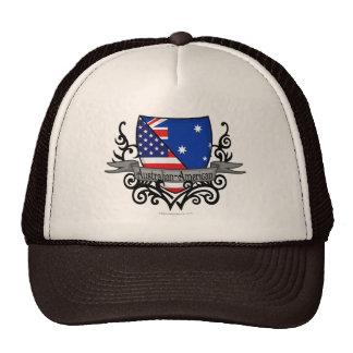 Australian-American Shield Flag Mesh Hat