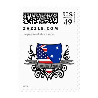 Australian-American Shield Flag Stamp