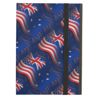 Australian-American Waving Flag iPad Air Case
