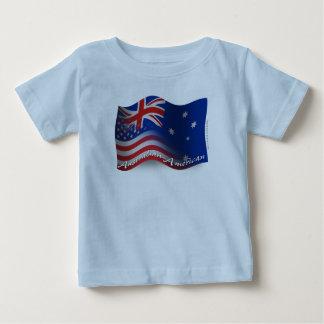 Australian-American Waving Flag Shirt
