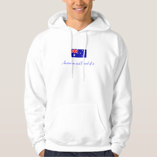 Australian and Proud of it Hoodie
