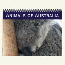 australian animals 2019 calendar