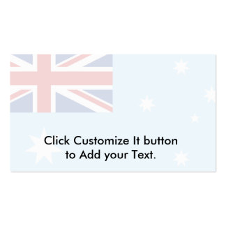 Australian Antarctic Territory, Antarctica Double-Sided Standard Business Cards (Pack Of 100)