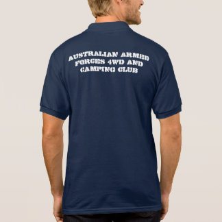 AUSTRALIAN ARMED FORCES 4WD AND CAMPING CLUB SHIRT