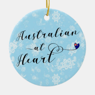 Australian at Heart, Christmas Tree Ornament