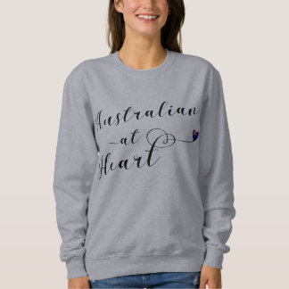 Australian At Heart Sweatshirt, Aus Sweatshirt