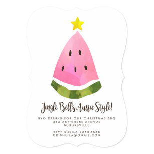 bbq christmas invitations zazzle