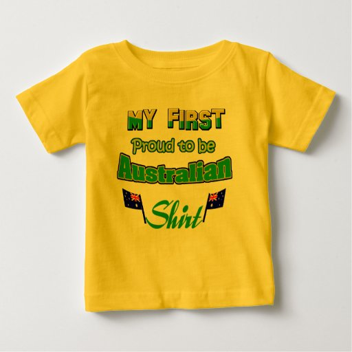 Australian baby design baby t shirt zazzle Design t shirt australia