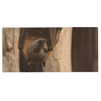 Australian Bat Wood USB Flash Drive