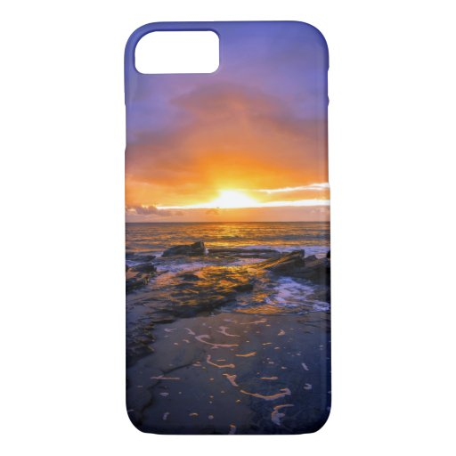 Australian Beach Gold Sunset Sea iPhone 8/7 Case