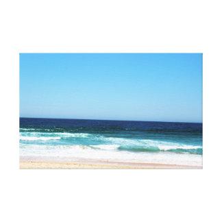 Australian Beach Wrapped Canvas