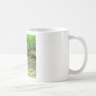 AUSTRALIAN BIRD STORK RURAL QUEENSLAND AUSTRALIA COFFEE MUG