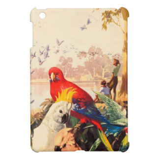 Australian Birds Vintage Travel Poster Cover For The iPad Mini