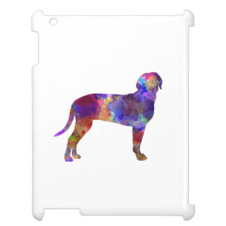 Australian Black and So Hound in watercolor Cover For The iPad 2 3 4