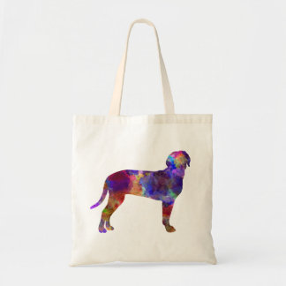 Australian Black and So Hound in watercolor Tote Bag