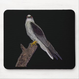Australian blackshouldered kite mousepad