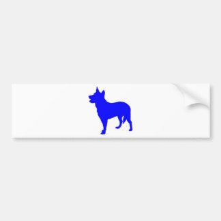 Australian Blue Heeler Car Bumper Sticker