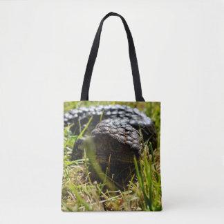 Australian Blue Tongue Lizard, Shopping Bag. Tote Bag